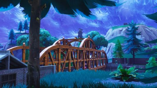 Fortnite Week 8 challenges: Map with Jigsaw Puzzle Pieces under bridges, caves