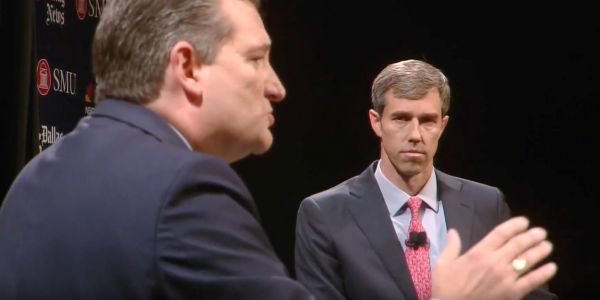 'That was collusion in action': Beto O'Rourke calls up Trump's Russia summit to rebuke Ted Cruz for cozying up to the president