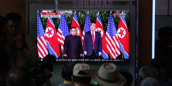 From 'fire and fury' to 'rocket man,' the various barbs traded between Trump and Kim