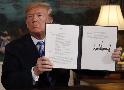 Trump pulled out of the Iran deal with a perfectly good reason - and his decision should be celebrated