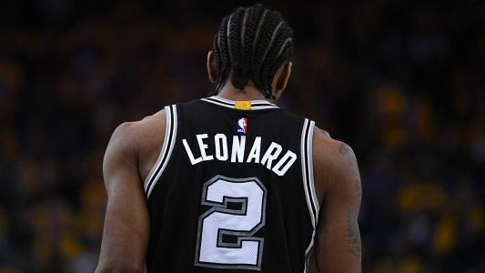 Kawhi Leonard returns from injury to make season debut for Spurs