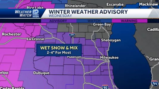 Videocast Winter Weather Advisory Tomorrow