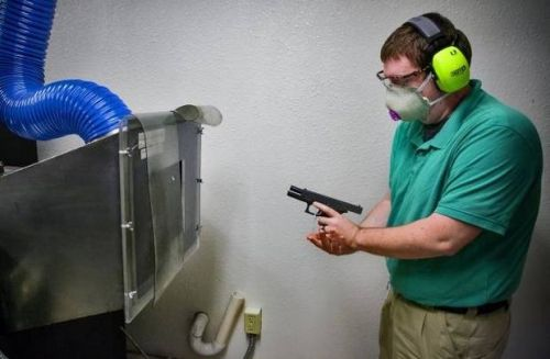 With only one full-time firearm examiner on staff, the police department's backlog of cases has swelled to more than 800 this year