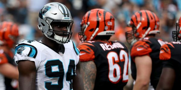 Panthers defender's impressive debut rounds out improbable path to the NFL that started as a human-trafficking victim