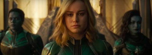 First trailer for Brie Larson's 'Captain Marvel' is here