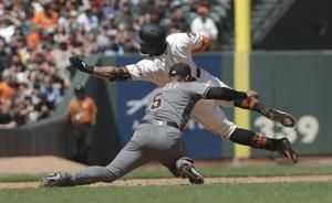 Marte homers again as Diamondbacks rout Giants 10-4