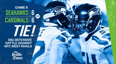Sunday night stunner: Seattle sports world reacts to Seahawks-Cardinals ending in a tie