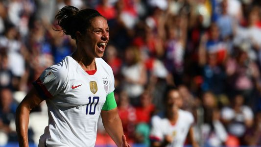 Women's World Cup 2019: U.S. coach Jill Ellis praises Carli Lloyd after two-goal performance