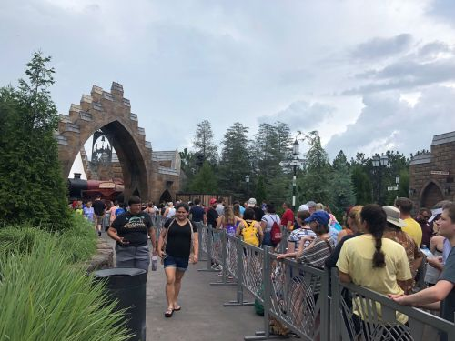 The new 'Harry Potter' ride is so popular at Universal Orlando that it won't be starting up until noon to keep up the ride's daily maintenance