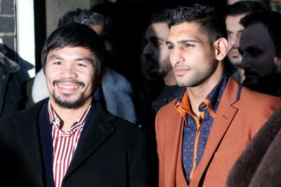Amir Khan confirms he is negotiating a fight with former gym-mate Manny Pacquiao
