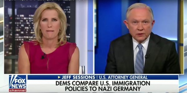 Jeff Sessions called up Nazi Germany's treatment of Jewish people to explain how the Trump administration's family separation policy is different