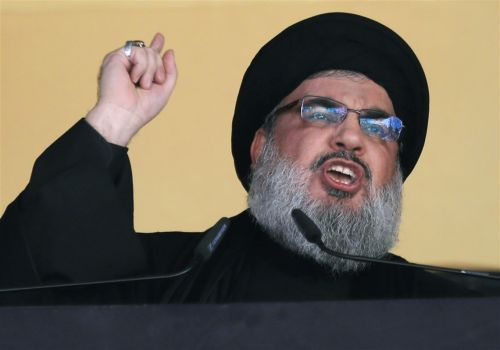 Hezbollah leader declares his group has 100,000 fighters
