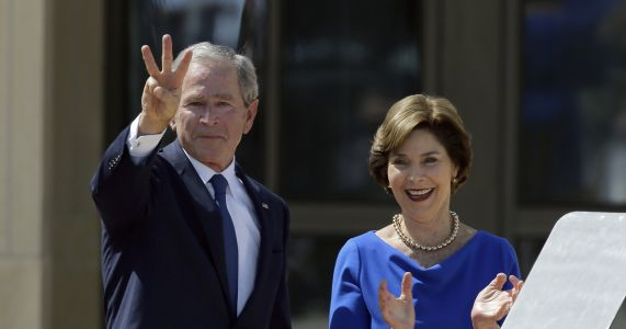 Low-profile George W. Bush is in high demand for campaigns