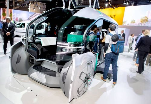 This Is the Weirdest Driverless Vehicle You've Ever Seen