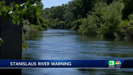 Increased flow releases from New Melones Dam means more hazardous conditions on Stanislaus River