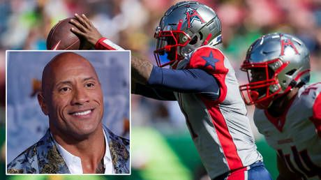 'I will create something special': Dwayne 'The Rock' Johnson saves bankrupt NFL rival the XFL in $15mn deal 'for love of football'