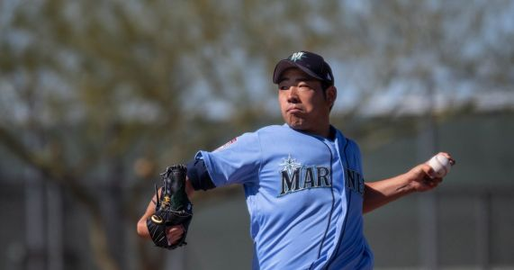 Yusei Kikuchi is making adjustments and working toward his first Mariners start