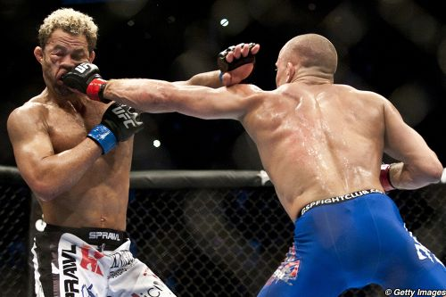 Today in MMA history, Georges St-Pierre wondered who'd be next