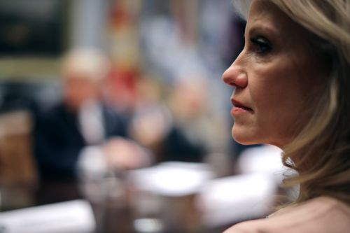 Kellyanne Conway defends Trump after he attacks her husband