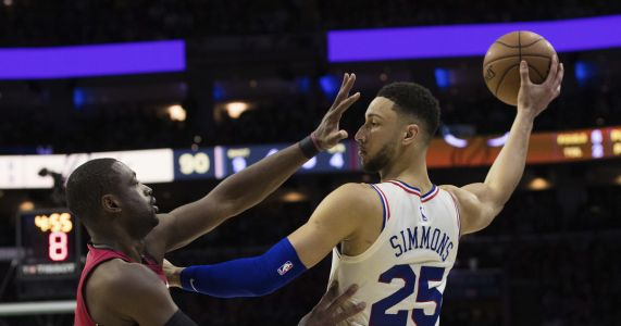 Philadelphia 76ers oust Miami Heat in 5 games in NBA first-round playoff series