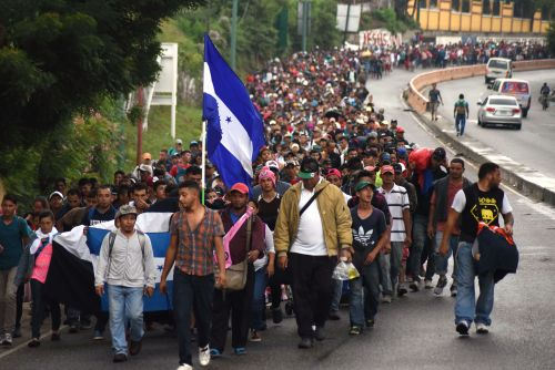 Migrant 'caravan' heading toward border grows to 4K