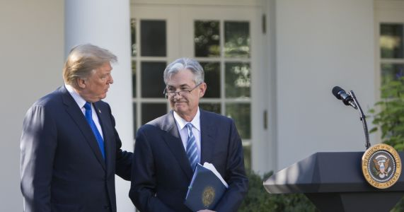 Trump intensifies attacks on Fed chair, saying 'I made him'