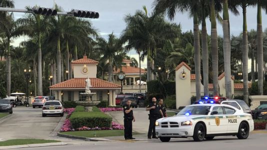Gunfire At Trump Golf Resort; Police Arrest Man With Flag
