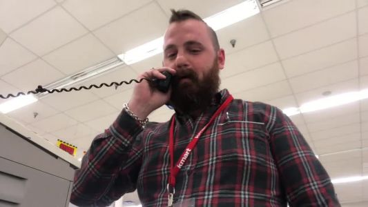 'Attention Kmart shoppers': Video shows longtime McMurray Kmart employee's emotional farewell