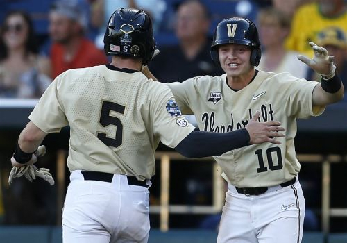 Pirates draft pick wins College World Series with Vanderbilt