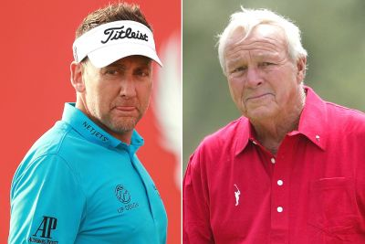 How Ian Poulter lost a $100 bill signed by Arnold Palmer