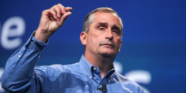 Intel is sliding after its CEO resigns