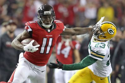 Julio Jones looks unstoppable - while playing on 9 toes