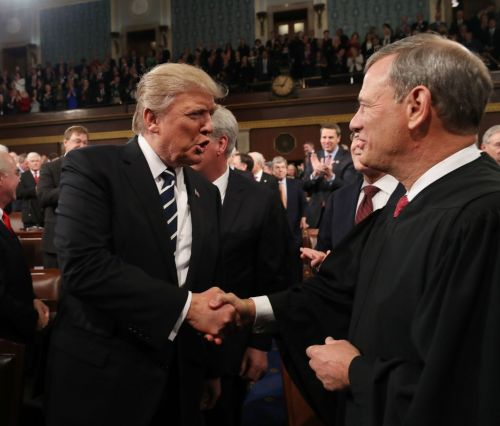 In rare public statement, Chief Justice Roberts hits back at President Trump's attacks on judges