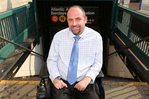 MTA taps paralyzed man to help improve handicap accessibility
