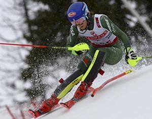 Shiffrin fight illness, wins 4th straight slalom at worlds