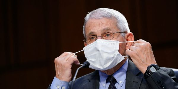 Fauci said it's 'quite possible' people will continue wearing masks during 'seasonal periods' to prevent the flu