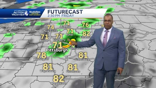 Sunny and pleasant for Wednesday
