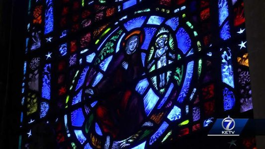 A look at St. Cecilia Cathedral's stained glass windows