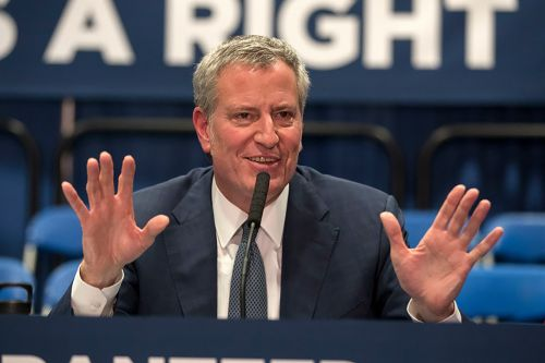 De Blasio defends handling of sexual harassment claims against top aide