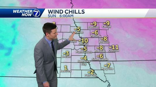 More clouds Sunday, wintry mix and snow possible next week