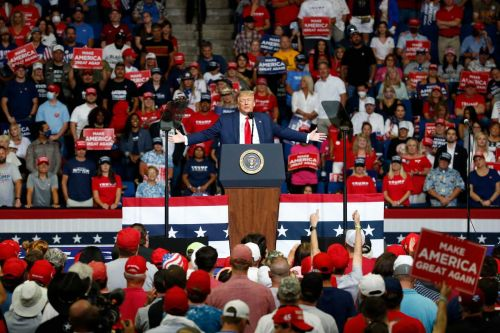 Health official says Trump rally in Oklahoma is 'likely' source of virus surge there