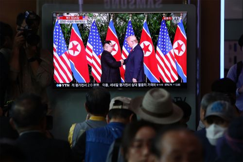 North Korean media praises Trump-Kim summit as 'meeting of the century'