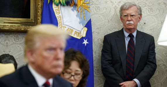Bolton's test: Massaging Trump tweets into foreign policy