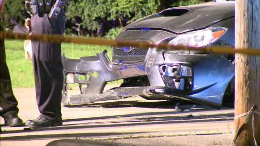 One killed, one injured in crash into vacant fire station in Mount Pleasant