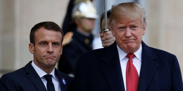 'MAKE FRANCE GREAT AGAIN!': The Trump-Macron bromance appears dead as president launches into tirade against the French leader