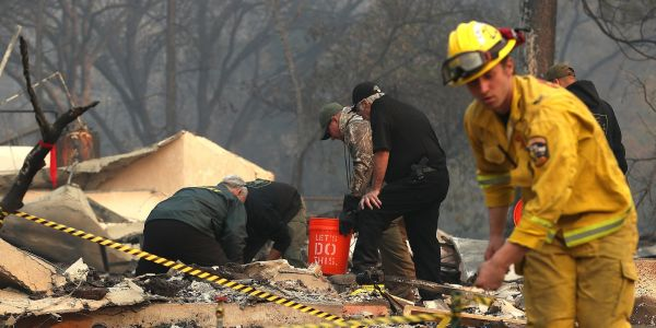 Authorities are still searching for the remaining 993 missing people after the Camp Fire roared through Paradise
