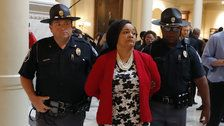 Georgia Lawmaker Arrested Amid Protest To Count Every Vote In Governor Race