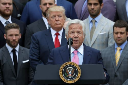 Trump wants Patriots owner Bob Kraft at White House despite prostitution bust