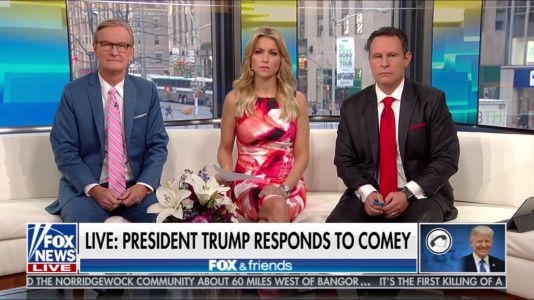 In long rant on 'Fox & Friends', Trump admits he stayed overnight in Moscow - alluding to the most salacious allegation in the Steele dossier