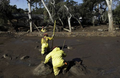 Death toll in California mudslides rises to 20, 4 remain missing